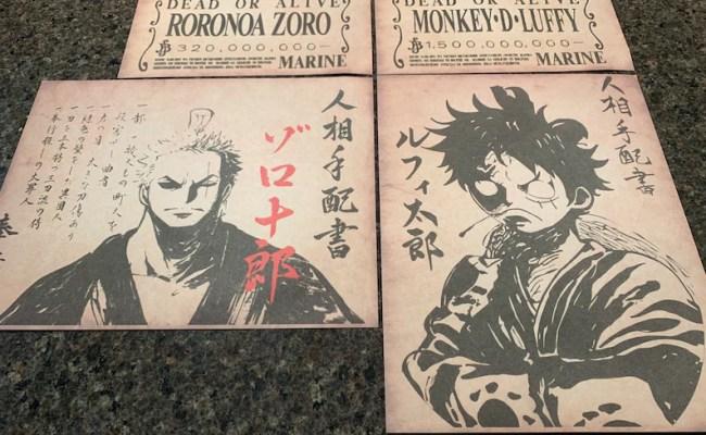 Bounty seseorang di dunia one piece didasarkan pada kekuatan. One Piece Sanji Wanted Poster High Quality Wano Bounty Anime Manga Art Print Art Collectibles Japanese Anime
