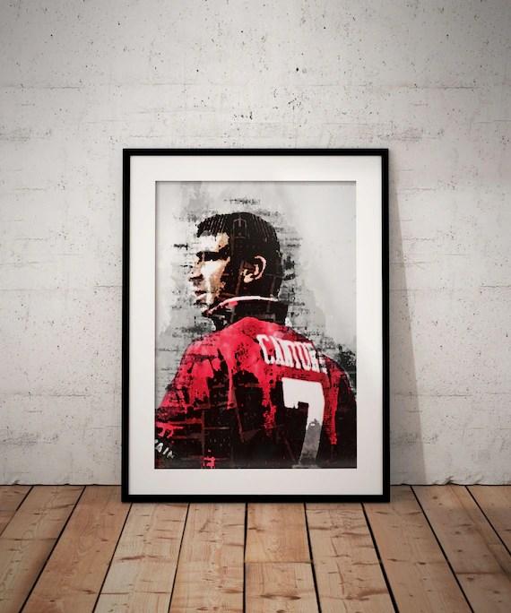 Proche de didier raoult, femmes de sa vie et passions cachées…. Eric Cantona Art Print Manchester United Football Wall Art Legend Sport Black And White Gift Home Decor Art Collectibles Prints Dalasmaker Se