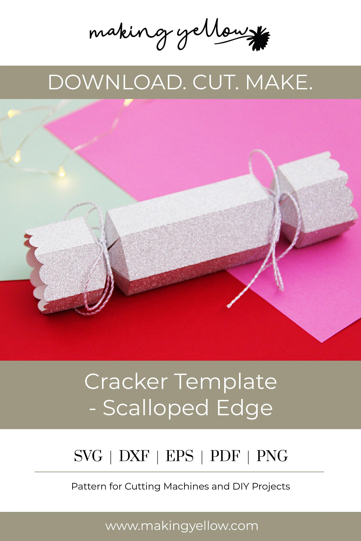391 Christmas Cracker Svg Cutting File