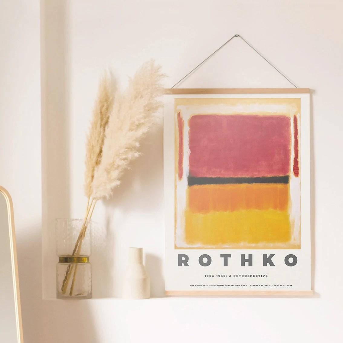rothko print etsy