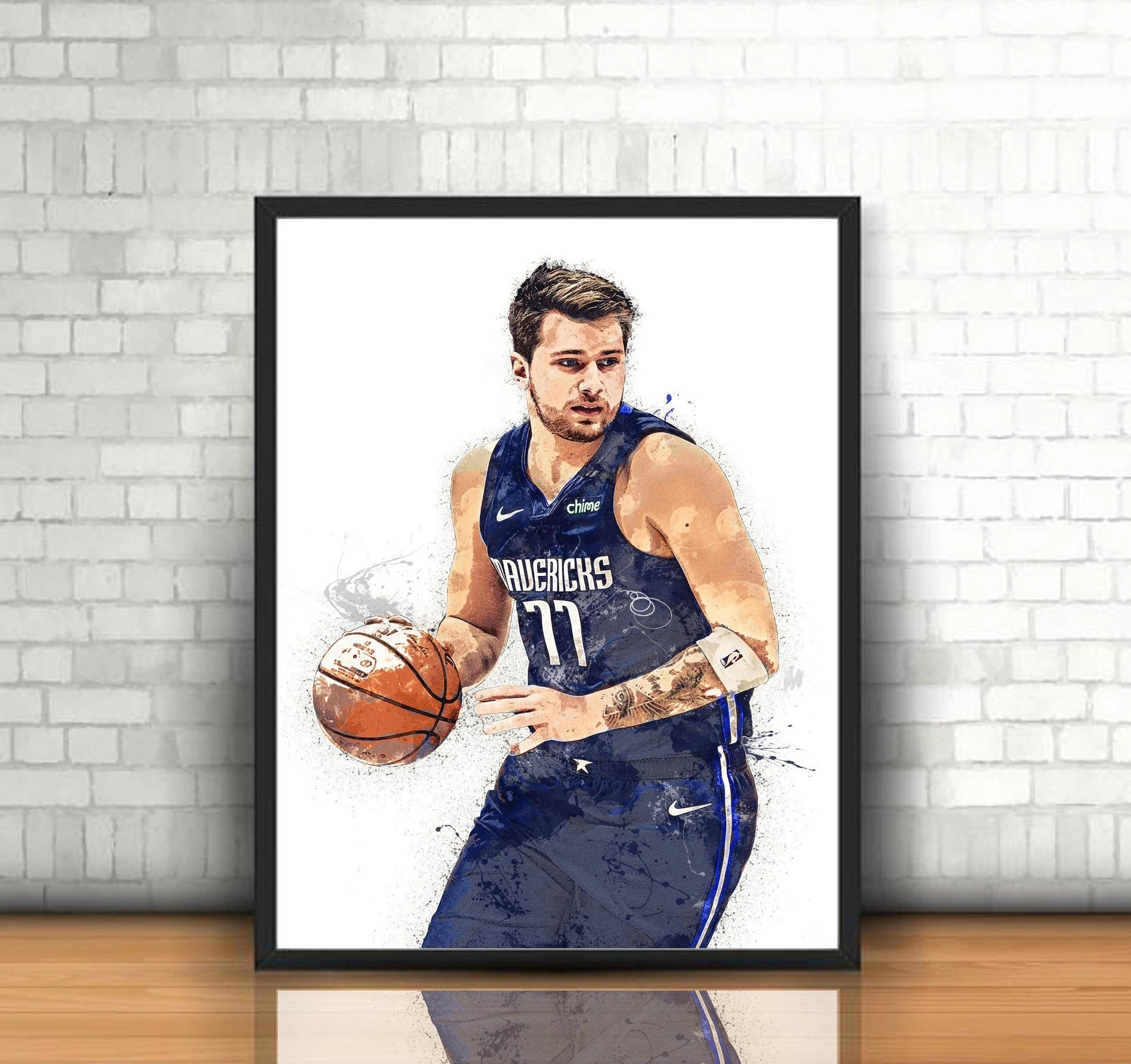 luka doncic poster etsy