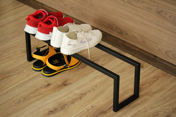 metal shelf for storing shoes loft shoe rack metal shoe etsy