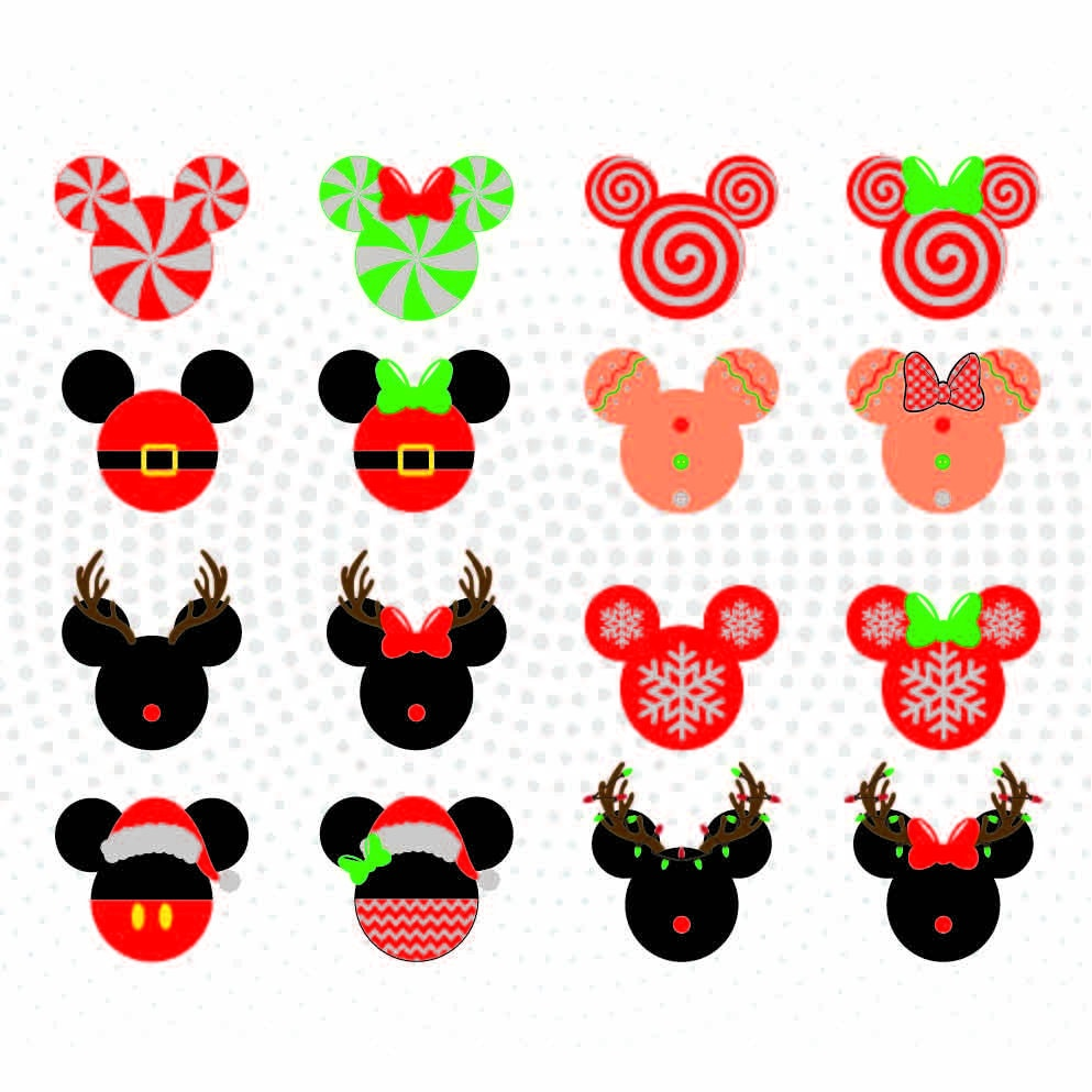 Download 81 disney christmas cliparts for free. Superhero Mickey Svg Png Scrapbooking Mickey And Minnie Svg Cricut Card Silhouettes Paper Crafts Dxf For Cut Files Digital Art Collectibles Sultraline Id