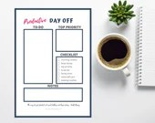 Productive Day Off Printable
