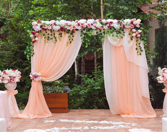 wedding backdrop curtain etsy