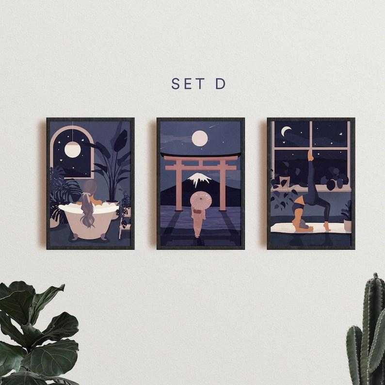 4x6 Mini Giclee Print Set image 3