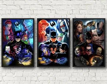 batman animated etsy
