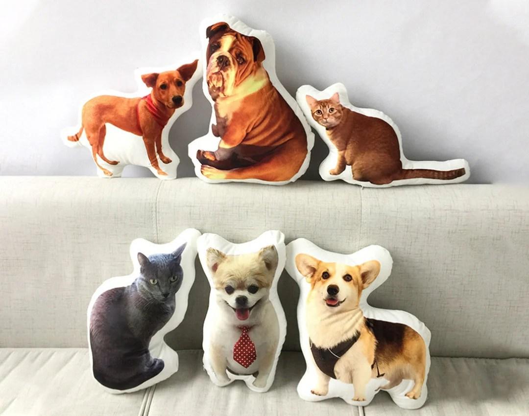 custom dog pillow etsy
