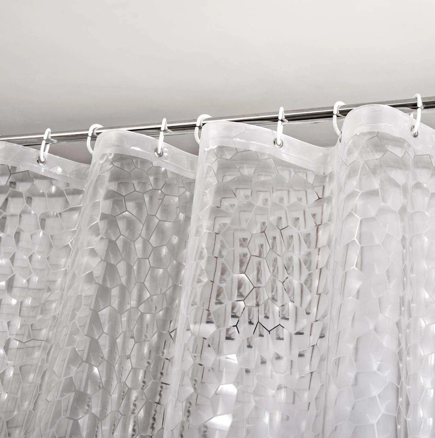 clear shower curtain etsy