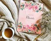 Le journal Fleurir – Large-format wellness planner/agenda