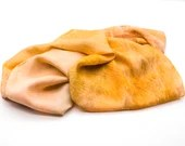 Long Silk Scarf - Silk hair scarf - Unique Silk Head scarf - Silk Scarf Women - Hand Dyed Silk Scarf - Autumn Blaze