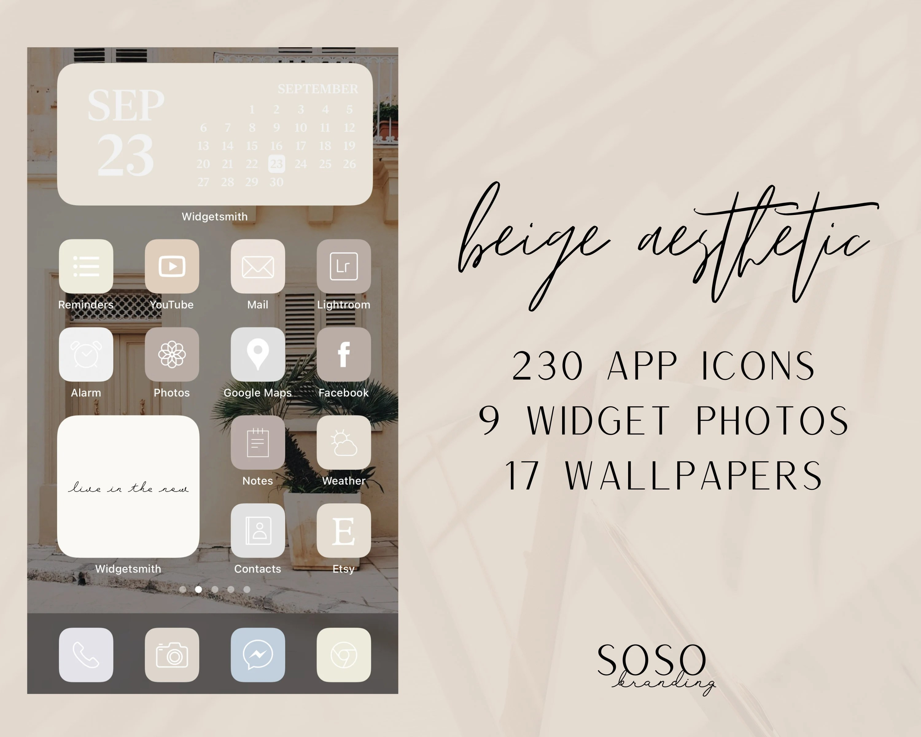 This cute fall aesthetic theme that'll give you all the autumn. Beige Cream Sand Tone Neutral Aesthetic 230 iOS 14 App ...