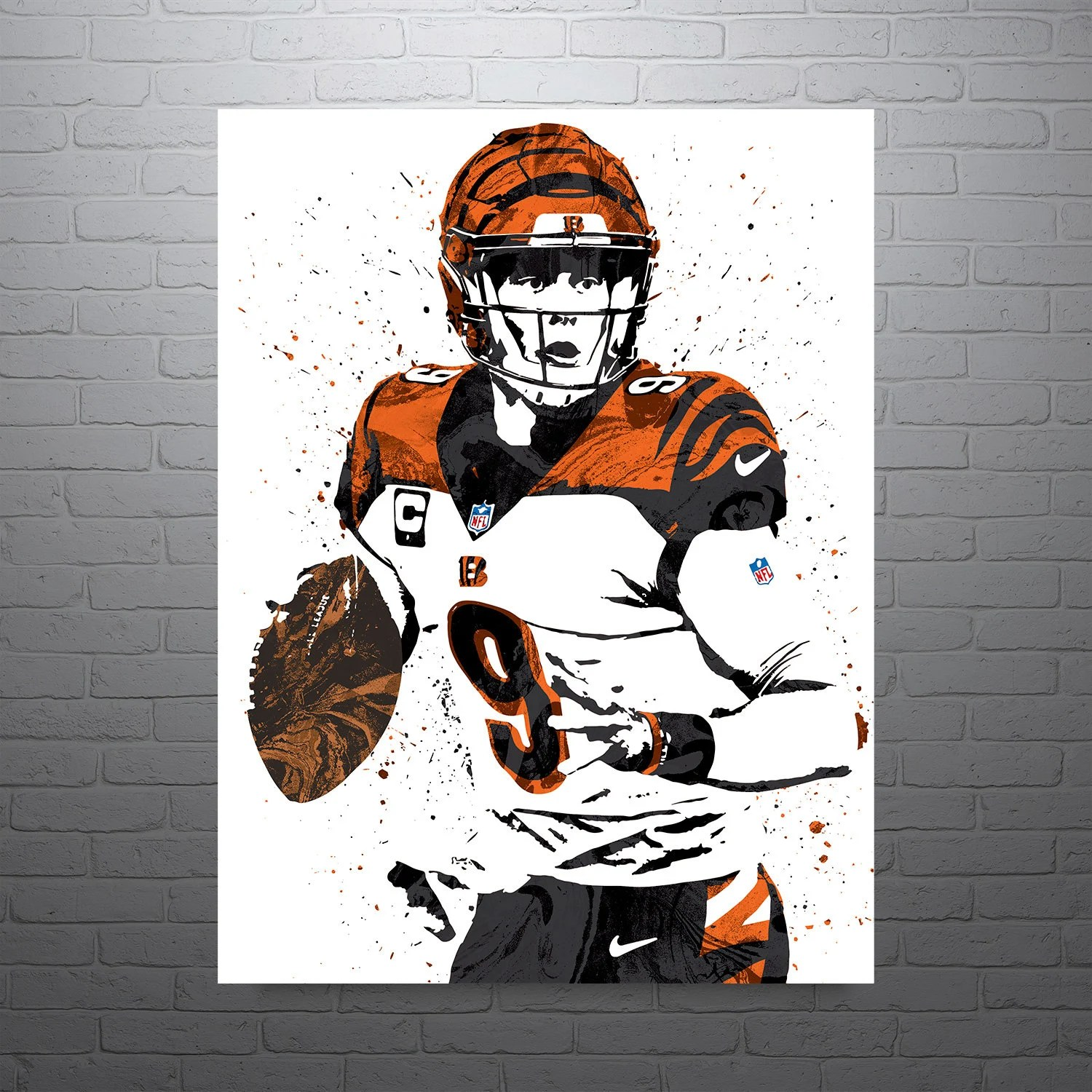 bengals poster etsy