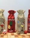 Wine Bag Barrel Etsy