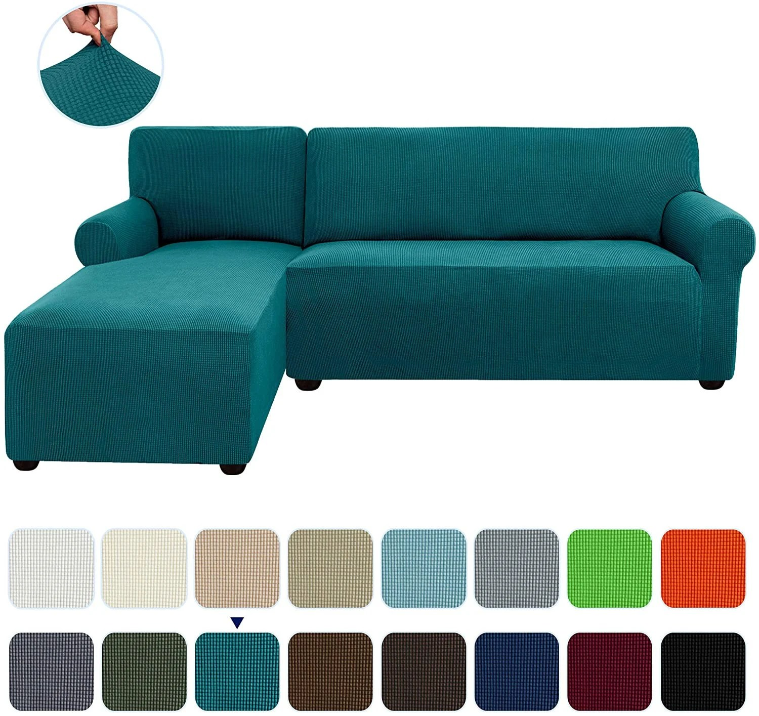 sectional couch cover etsy
