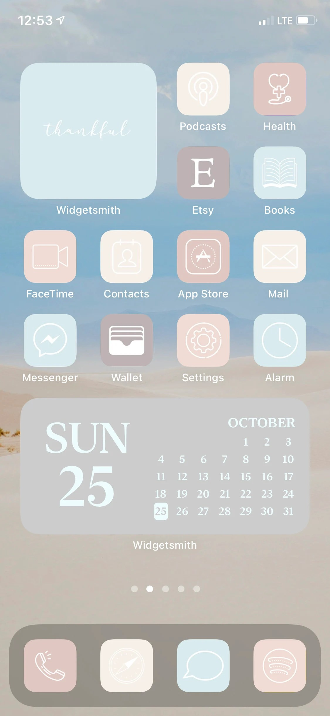 ===== list of app icons in this pack the 300 high … Beach Boho Aesthetic iOS App Icons 52 iPhone iOS 14 ...