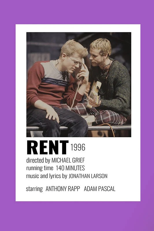 rent musical poster etsy