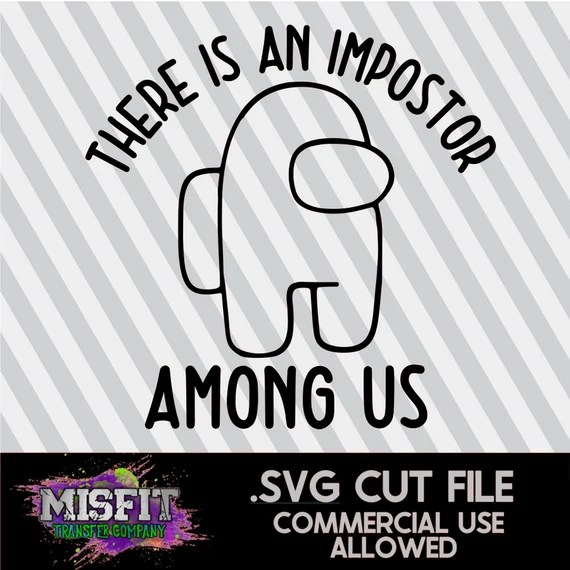 Download Imposter Among Us SVG SVG Cut File Silhouette Cameo &   Etsy
