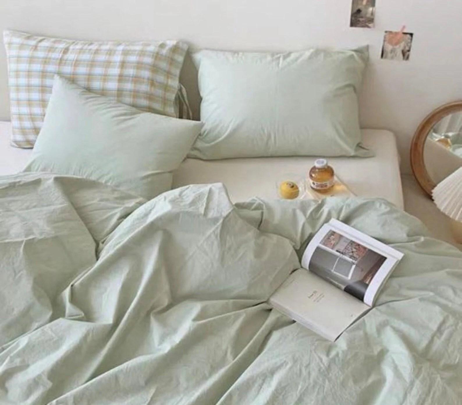 cute bedding etsy