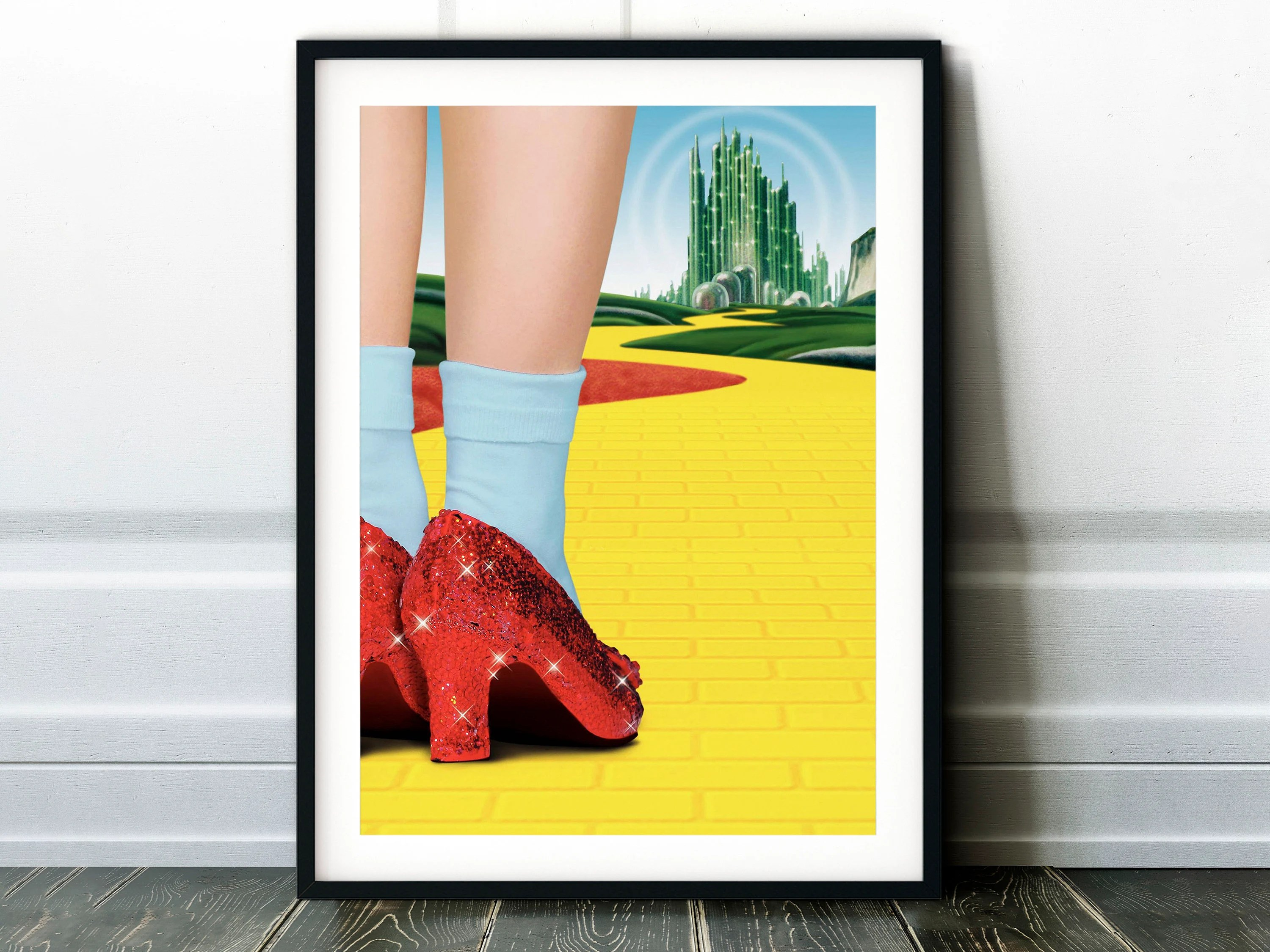 wizard of oz poster etsy