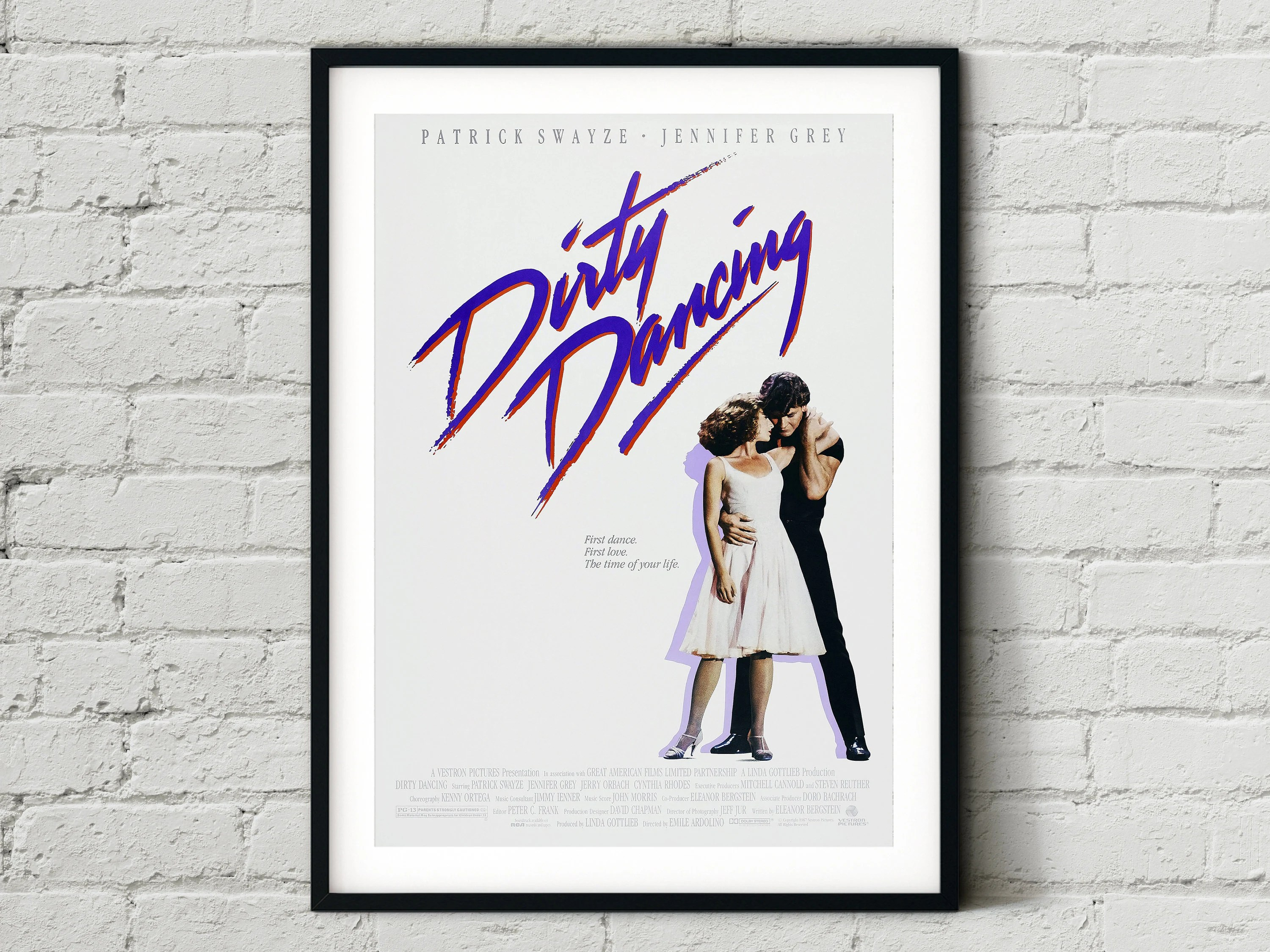 dirty dancing poster etsy