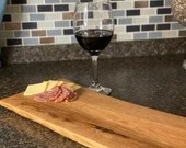 Live Edge Hand Crafted Charcuterie Board Oak