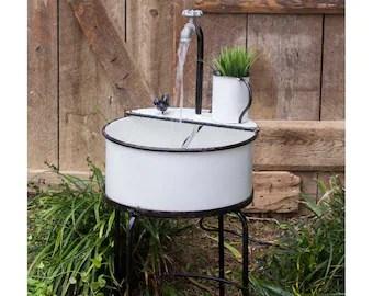 garden sink etsy