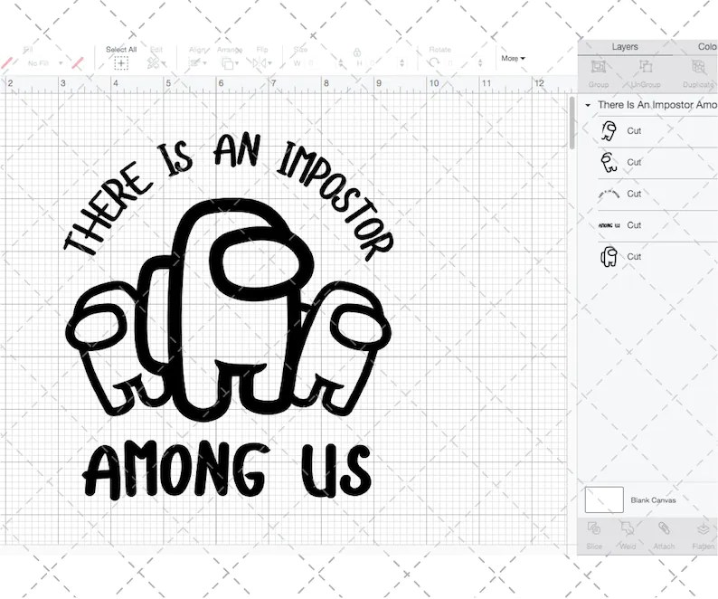 Download Among Us SVG There Is An Impostor SVG Among Us Theme Game ...