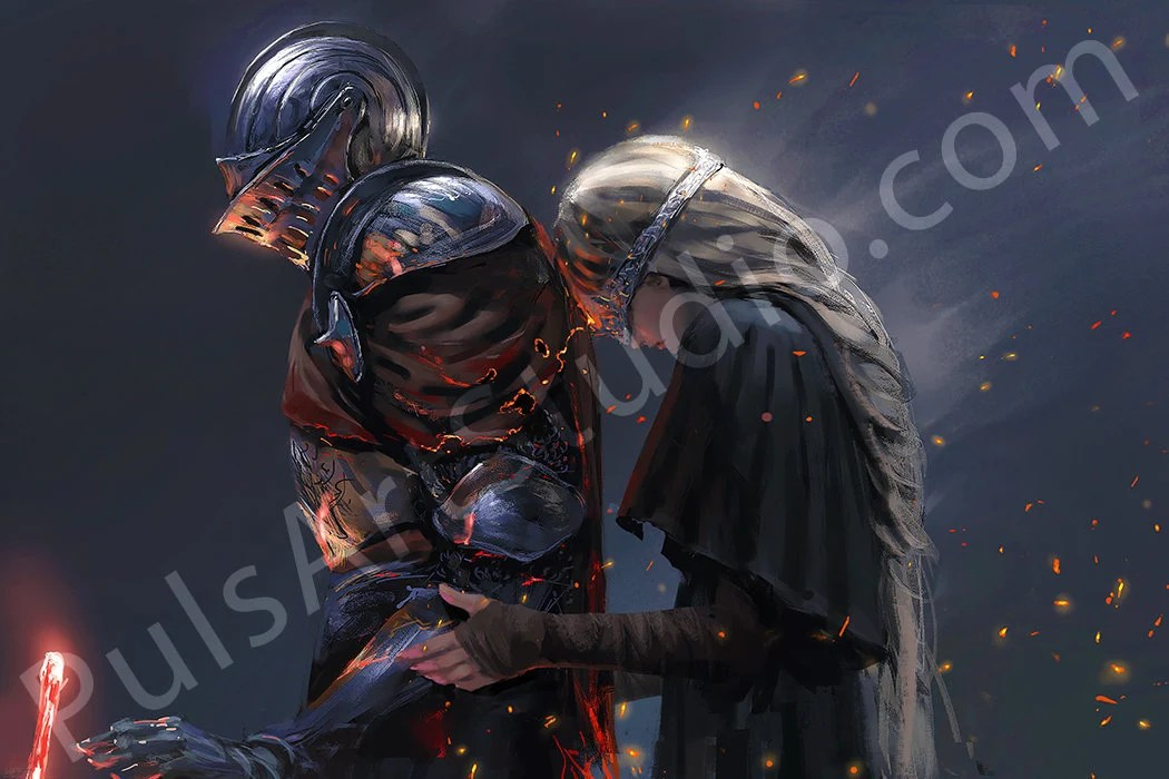 dark souls 3 poster etsy