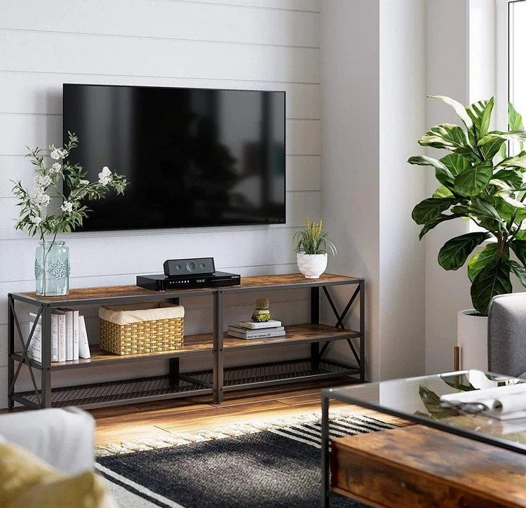 meuble tv industriel etsy