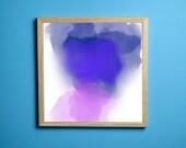 Purple Skies, Printable Art, Wall Art Prints, Instant Download
