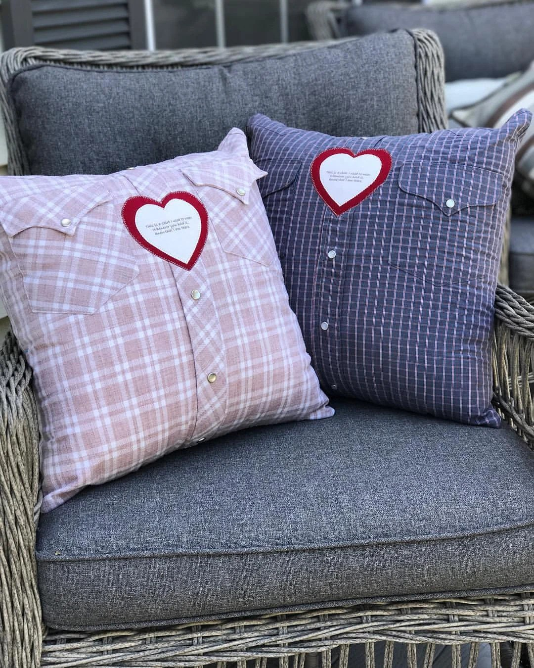 custom memory t shirt pillow with