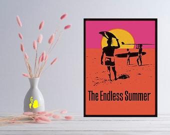 endless summer poster etsy