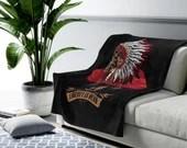 LIBERTY IS DEAD Plush Blanket