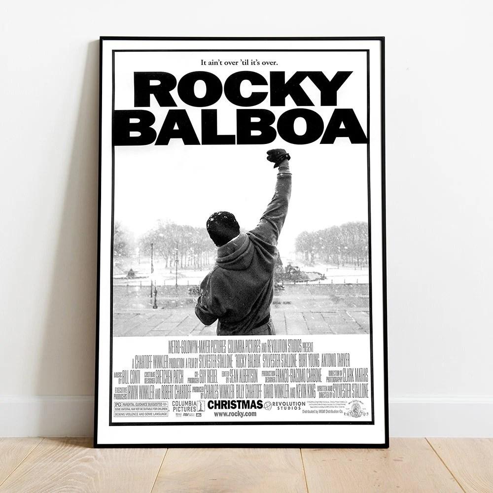 rocky movie poster etsy