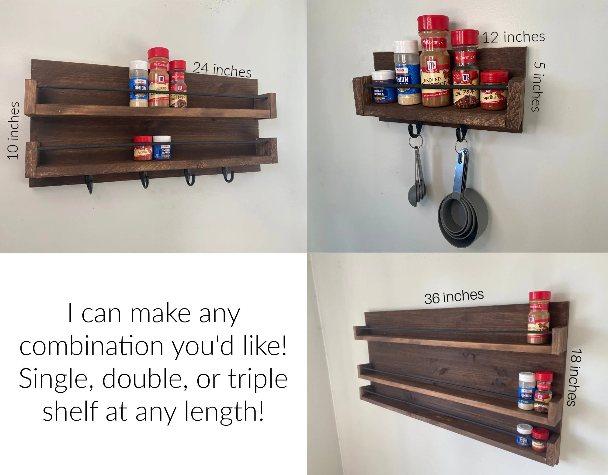 small spice rack etsy