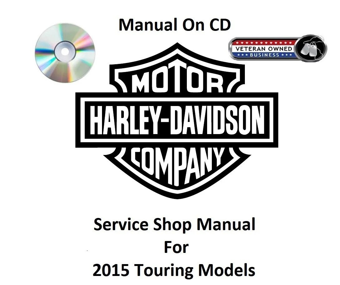 2015 Harley Davidson Touring Models CD Service Shop Manual