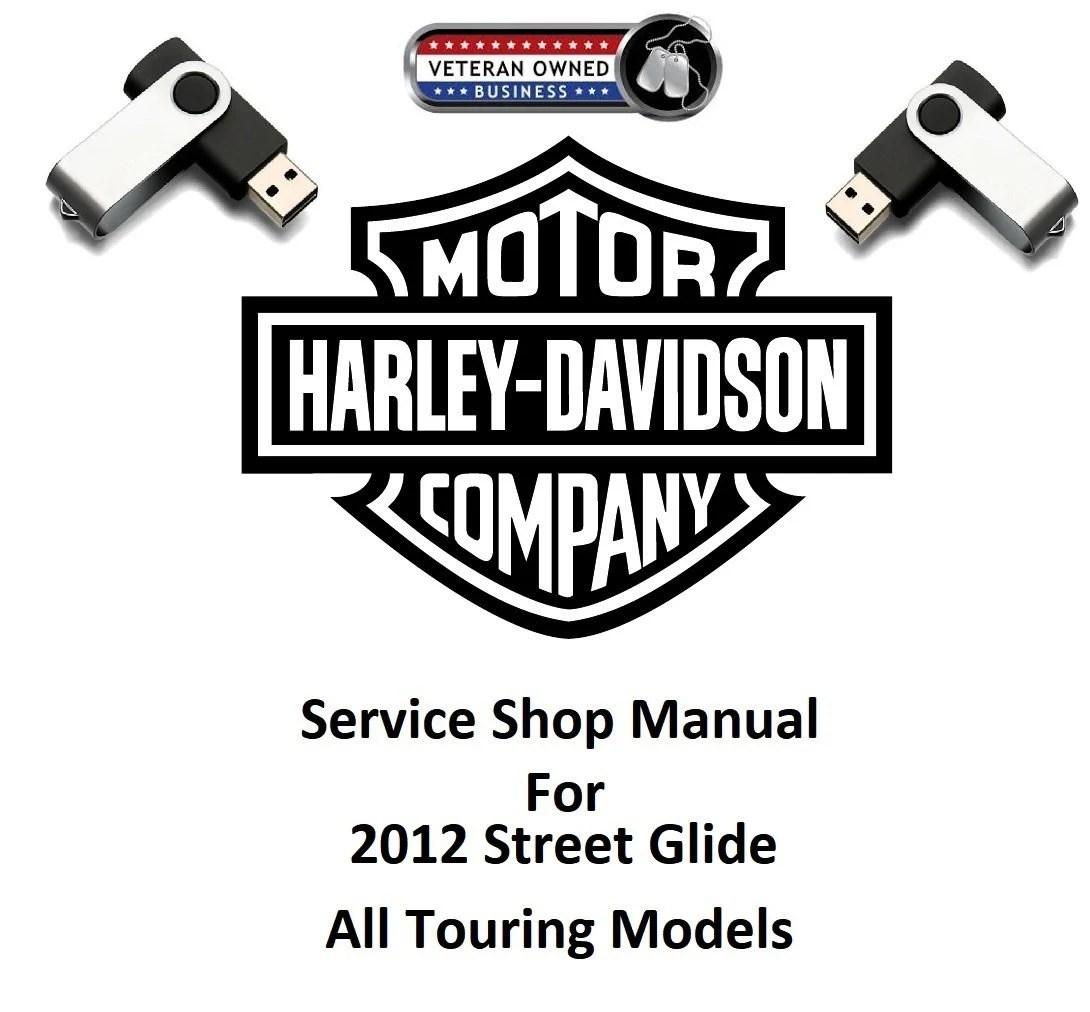 2012 Harley Davidson Street Glide FLHX All Touring Models