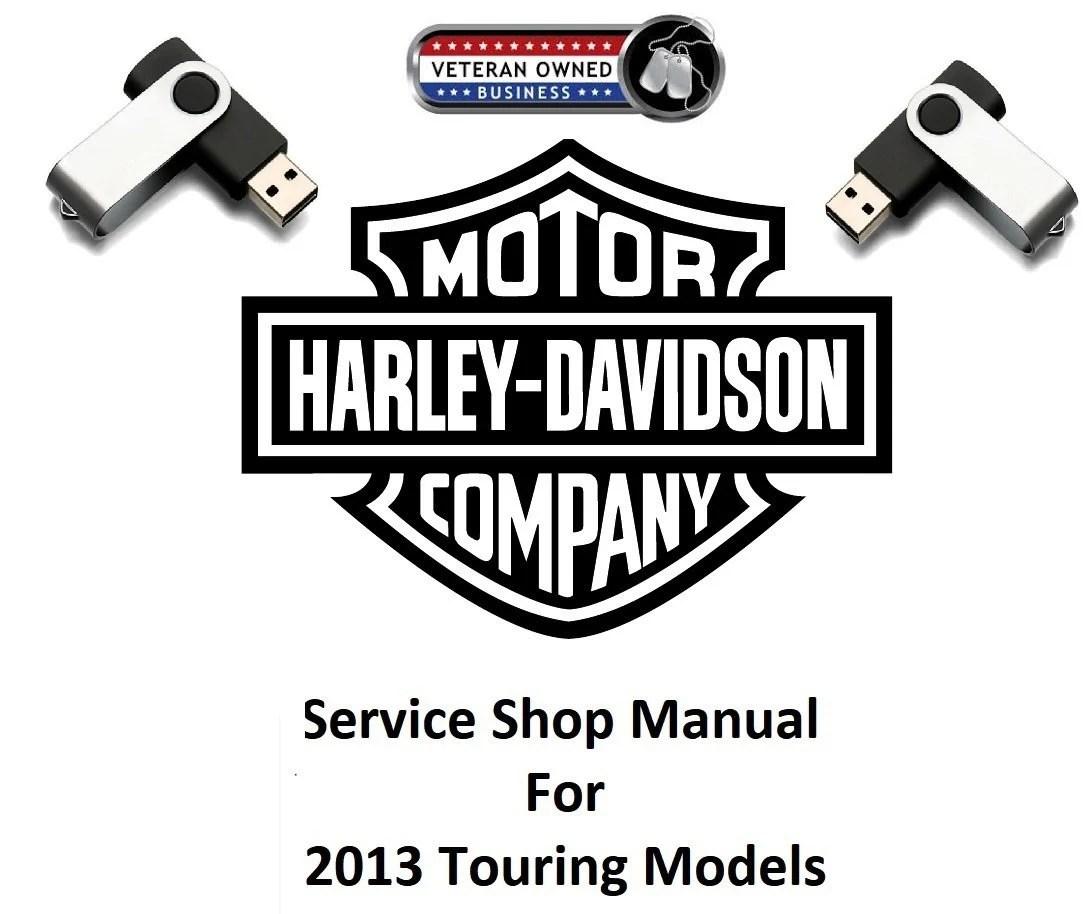 2013 Harley Davidson Touring Models/CVO/Trike USB Service
