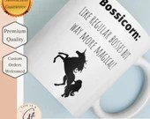 Bossicorn : Like Regular Bosses BUT Way More Magical - White glossy mug- boss Mug - Gift for Boss mug - Boss Gift Mug - Unicorn Boss Mug