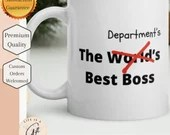 The Department's Best Boss - Perfect gift for Supervisor or department manager