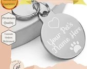 Customized Engraved pet ID tag - Dog Tag - Cat Tag - Personalized Name Tag For Your Pet