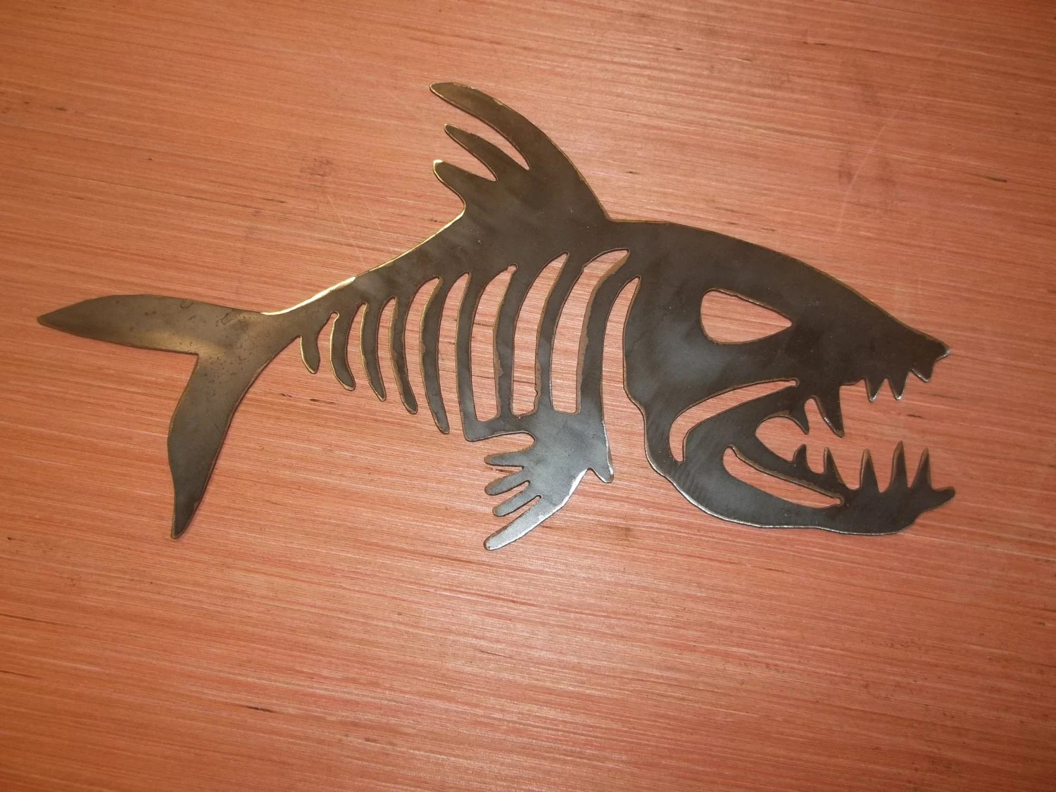 fish skeleton dxf and