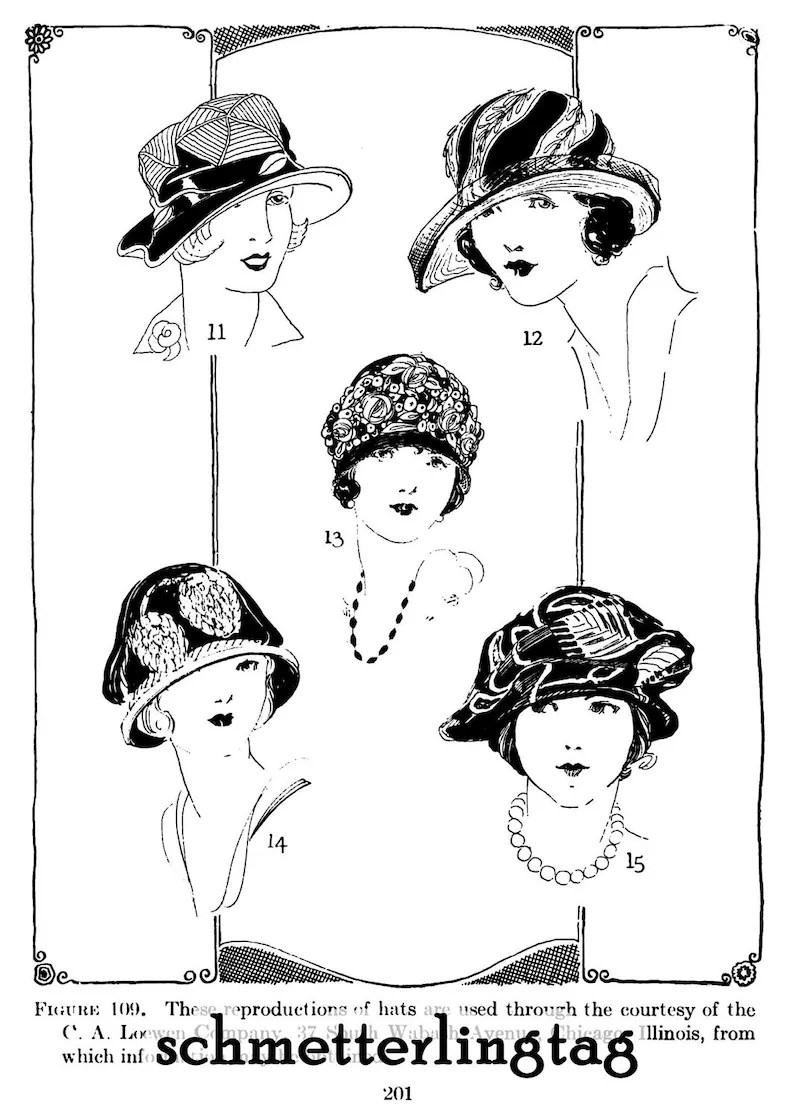Millinery Book Flapper Hat Making Make Roaring 20s Hats
