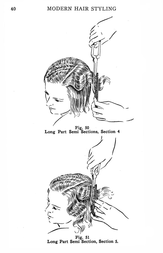 Vintage Hair Accessories: Combs, Headbands, Flowers, Scarf
