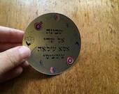 Divine Names  - Jewish Hebrew Kohenet - Mirror Sticker - Waterproof