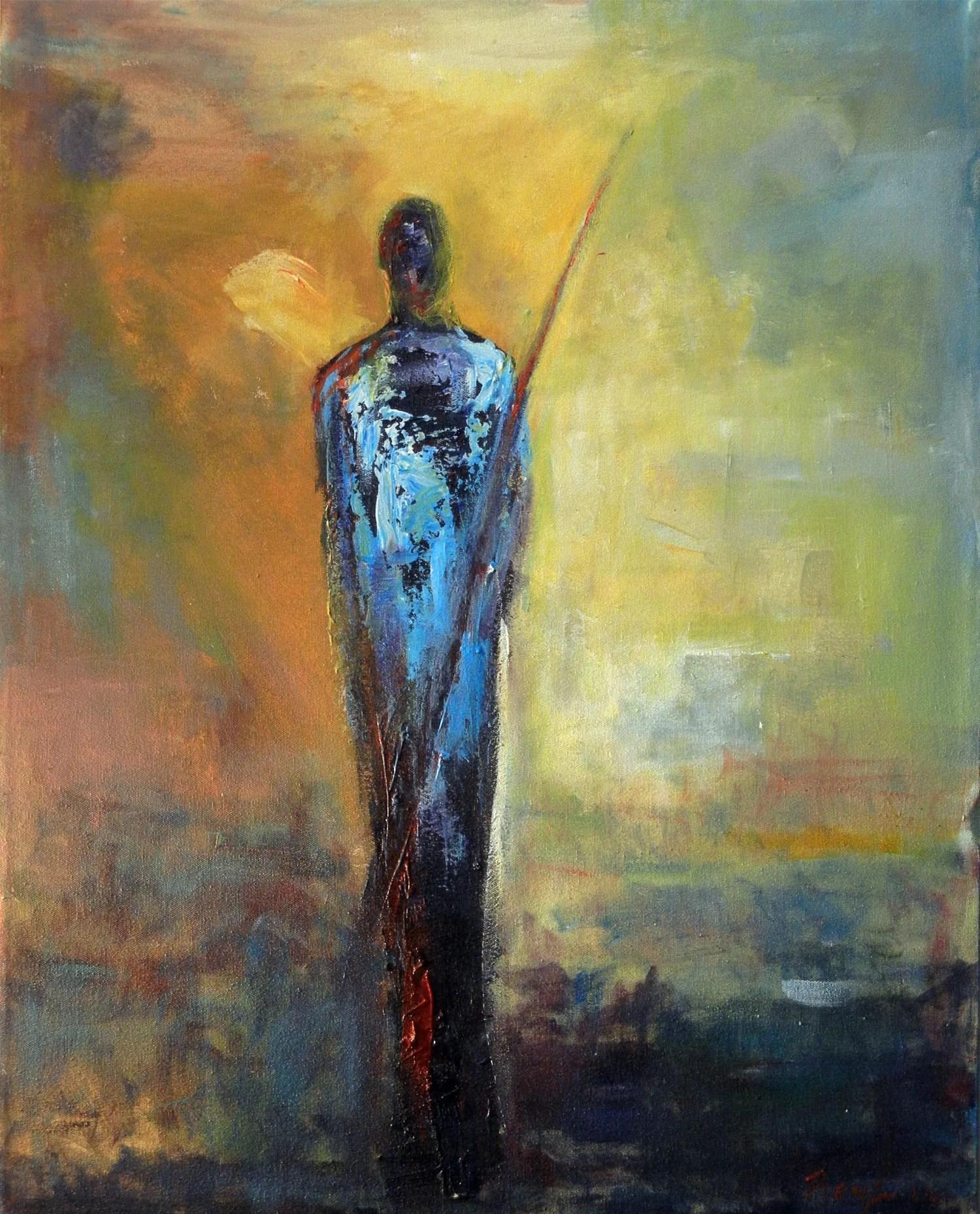 maasai figures abstract art