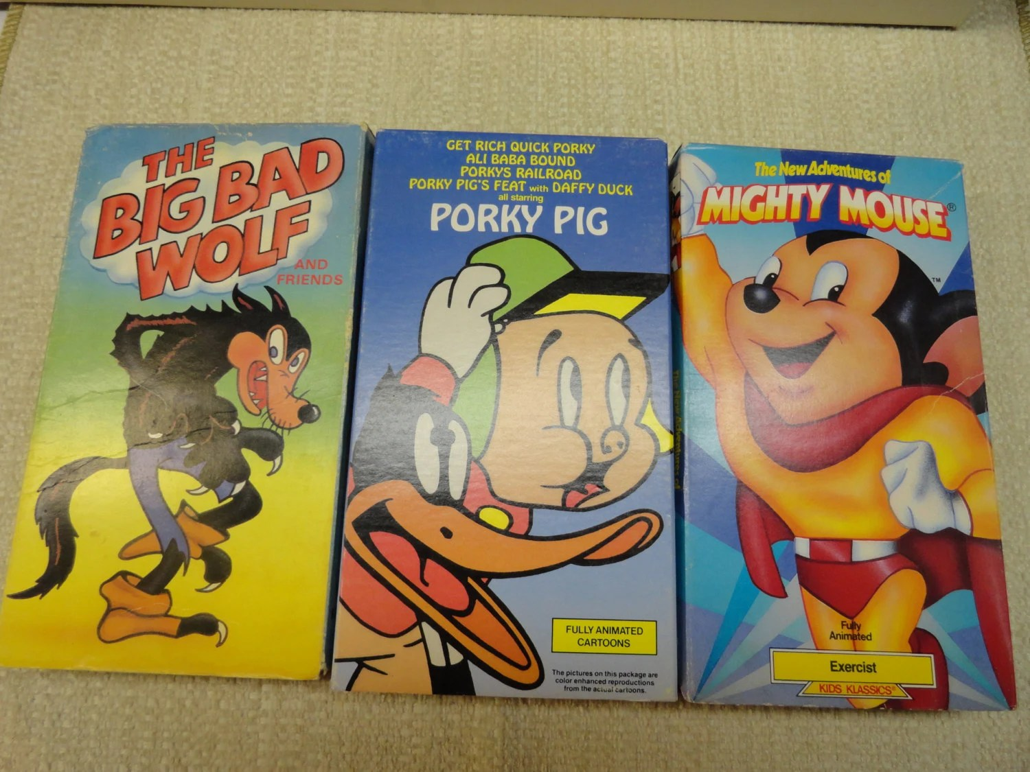 Cartoons R Vhs Favorites