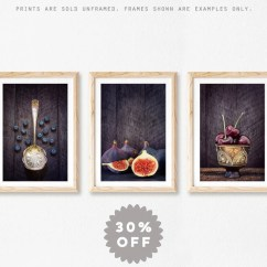 Framed Prints For Kitchens Kitchen Islands Sale Farmhouse Wall Decor Rustic Art Print Set Of 3 Etsy Image 0