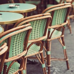 Parisian Cafe Chairs Table And Green Paris Bistro Kitchen Decor Wall Art Etsy Image 0